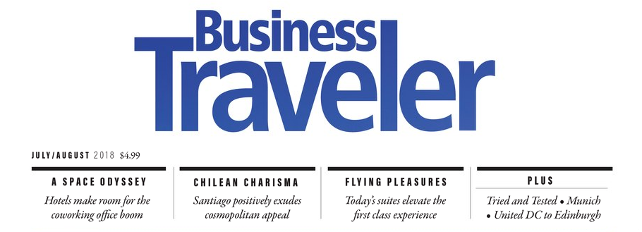 Business Traveler June 2018 - Click Here to Read Now!