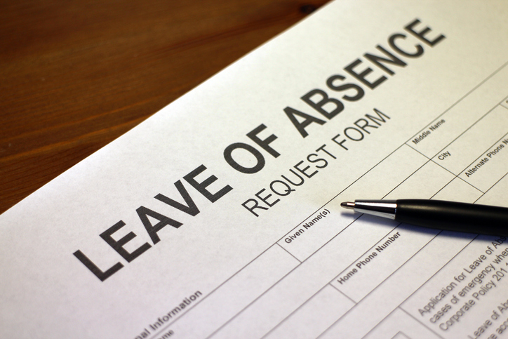 leave of absence request form