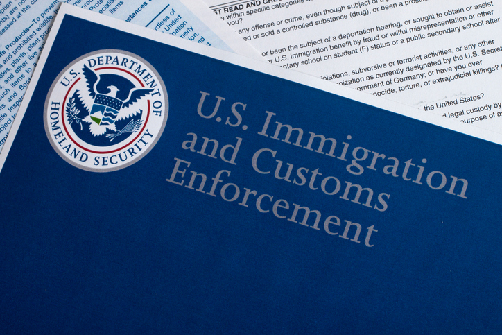 U.S. Immigration & Customs Enforcement document