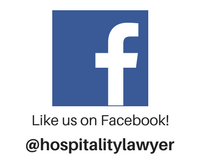 Like us on Facebook - @hospitalitylawyer