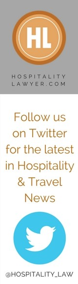 Follow us on Twitter for hospitality & travel news: @hospitality_law