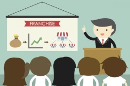 boss explains franchising to employees