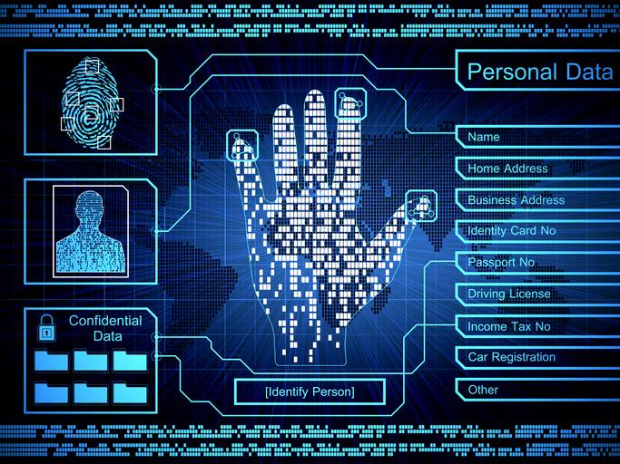 Security Concept: biometrics