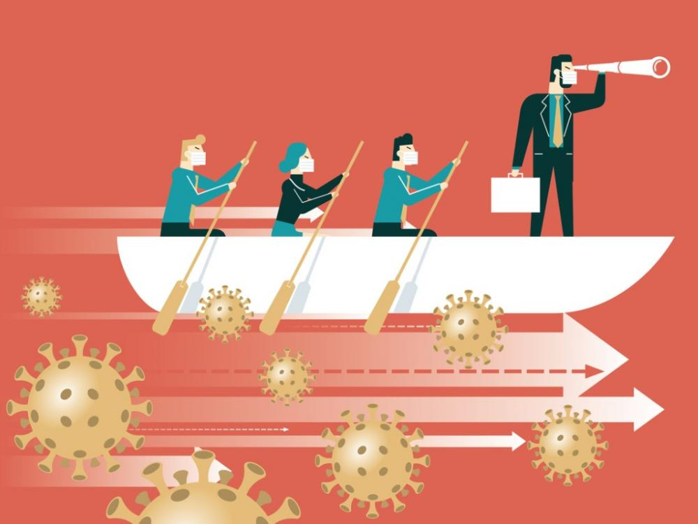 leadership and teamwork during coronavirus