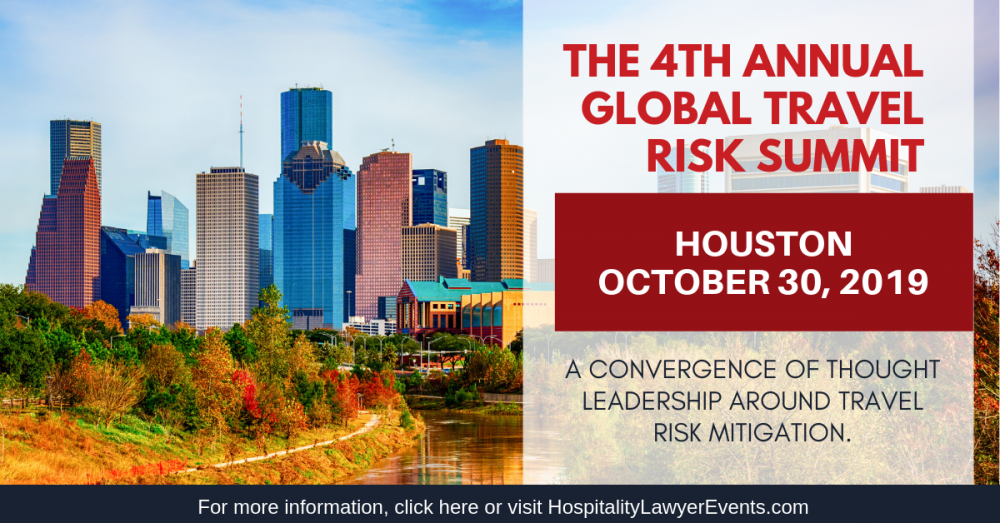 The Global Travel Risk Summit: Houston | October 30