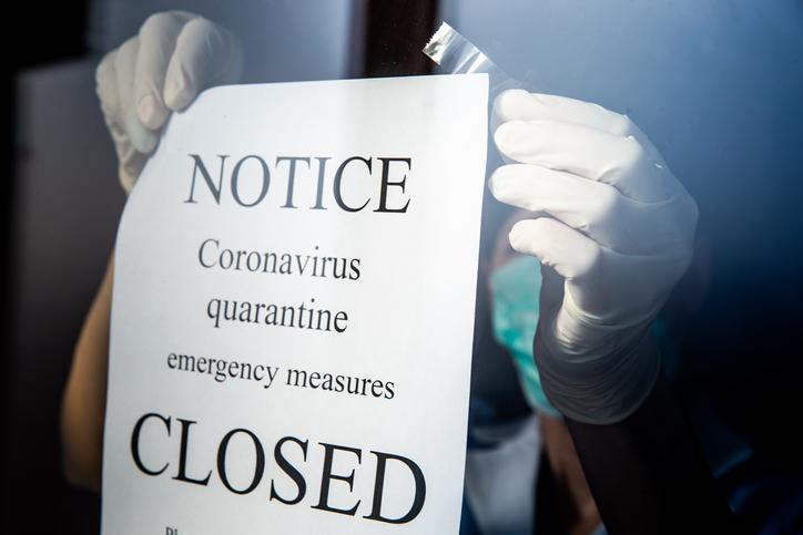 coronavirus quarantine closure