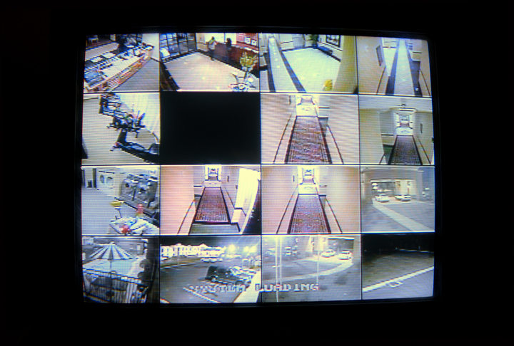 hotel security cameras