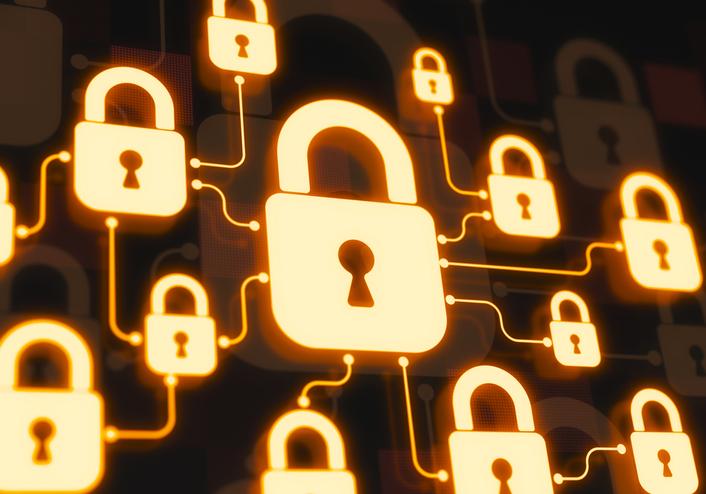 cybersecurity digital locks circuits
