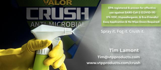 Valor Crush: Anti-microbial virus killer
