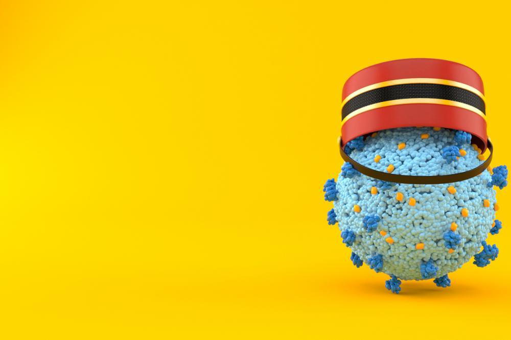 virus bacteria wearing bellhop hat