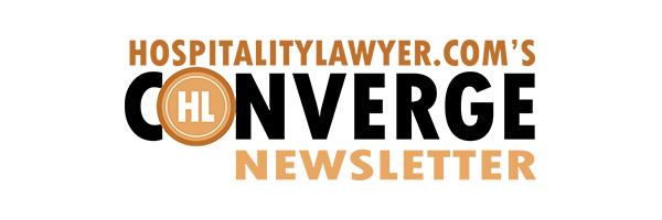 HospitalityLawyer.com's Converge Newsletter