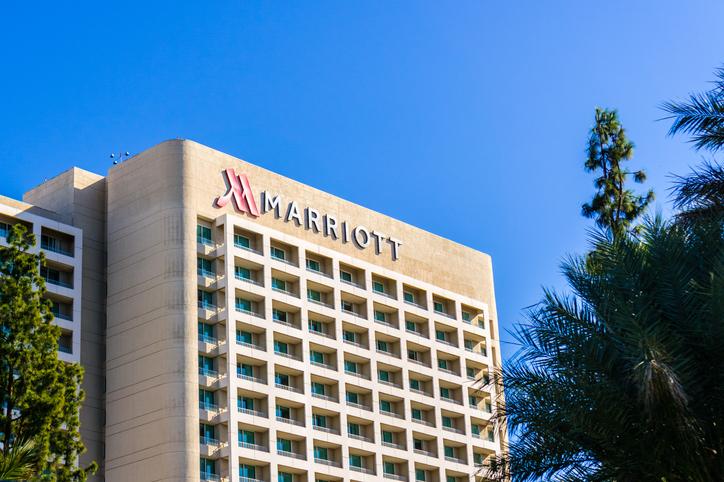 marriott hotel exterior